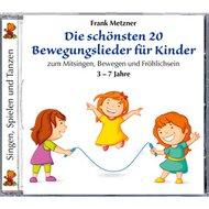 CD Die schönsten 20 Bewegungslieder für Kinder