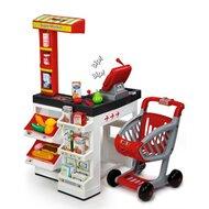 Supermarkt mit Einkaufswagen von SMOBY