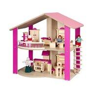 Puppenhaus doppelstöckig pink von BAYER CHIC