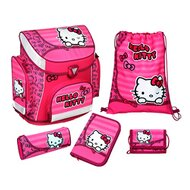 Schulranzenset Campus Plus von SCOOLI HELLO KITTY
