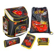 Schulranzenset Campus Plus von SCOOLI DISNEY CARS
