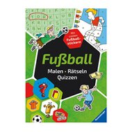 Malbuch-Fußball: Malen-Rätseln-Quizzen von RAVENSBURGER