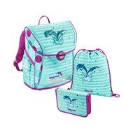 Schulranzen-Set Fabby Dolphin 3-teilig von BAGGYMAX