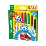 Baby Marker 8 Farben von SES