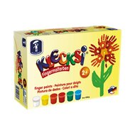 6er-Pack Fingermalfarben von FEUCHTMANN