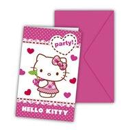 Einladungskarten von HELLO KITTY