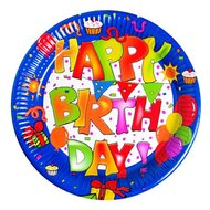 """Partyteller """"Happy Birthday"""" 10 Stck."""