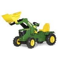 Trettraktor rollyFarmtrac John Deere 6210 R mit Frontlader von ROLLY TOYS®