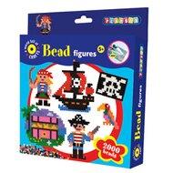 """Bügelperlen-Set """"Pirat"""", 2.000 Perlen von PLAYBOX"""