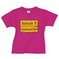 """T-Shirt """"Kindergarten/Schule"""""""