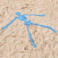 Skelett Sandspielform von EDUPLAY
