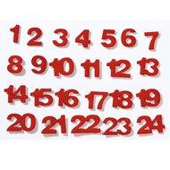 Filz-Zahlen 1 bis 24