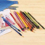 12er-Pack radierbare Farbstifte von FABER-CASTELL