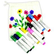 10er-Pack Textilfarbmalstifte von BELEDUC