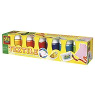 6er-Pack Textilfarben Basic von SES