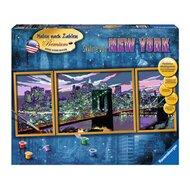 Malen nach Zahlen, Skyline von New York von RAVENSBURGER