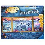 Malen nach Zahlen, Farbenfrohe Unterwasserwelt von RAVENSBURGER