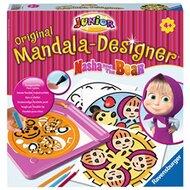Junior Mandala-Designer® Masha and the Bear, Beschäftigungsspiel von RAVENSBURGER