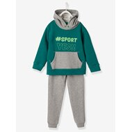 Jungen-Set aus Sweatshirt und Sweathose von VERTBAUDET