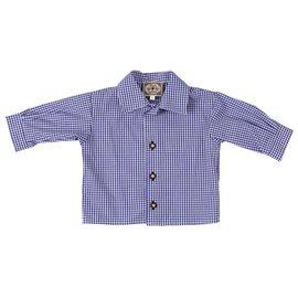 """La chemise traditionnelle à manches longues """"vichy"""""""
