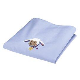 """La couverture d'été avec protection uv """"stanley"""" bleu"""