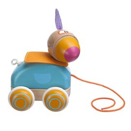 """Le jouet à tirer """"perroquet"""""""