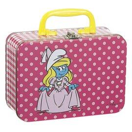 Petite valise schtroumpfette
