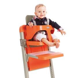 Le harnais pour la chaise haute slex evo