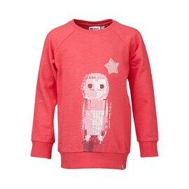 Sweat shirt tuxie602 330 rouge