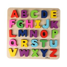 Le puzzle alphabet en bois