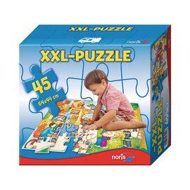 Puzzle géant xxl pompiers