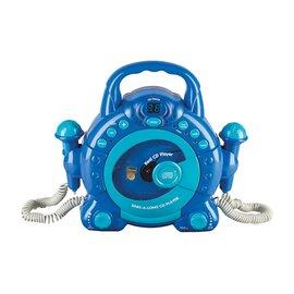 Lecteur CD bleu