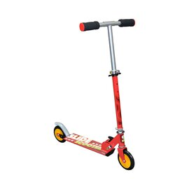 Trottinette pliable, rouge