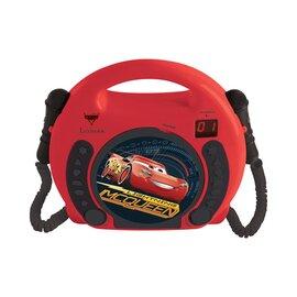 Lecteur CD avec 2 micros Cars 3