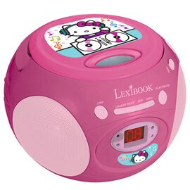 Lecteur radio CD Hello Kitty
