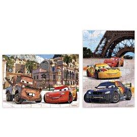 Puzzle « cars » 2 en 1