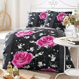 bettw sche mit rosenmotiv pictures to pin on pinterest. Black Bedroom Furniture Sets. Home Design Ideas