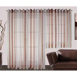 voile fertig store joel mit sen rost online kaufen. Black Bedroom Furniture Sets. Home Design Ideas