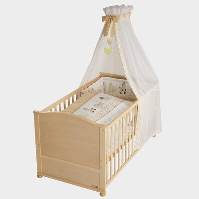 roba gitterbett komplett set online kaufen baby walz. Black Bedroom Furniture Sets. Home Design Ideas
