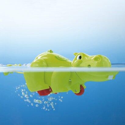 Badespielzeug Aufzieh-Nilpferd