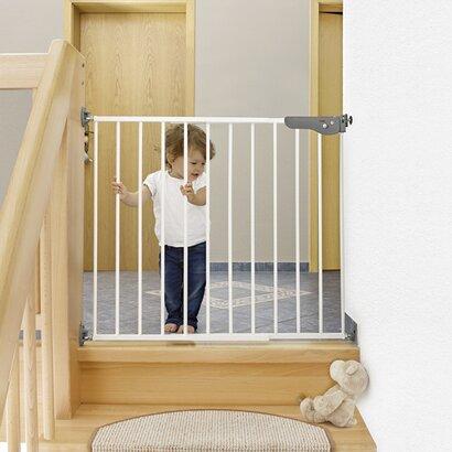 reer treppengitter s gate zum schrauben online kaufen babywalz. Black Bedroom Furniture Sets. Home Design Ideas