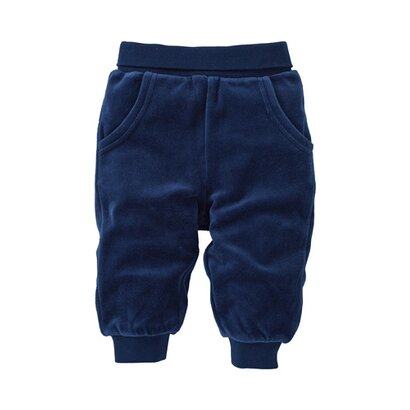 Le pantalon en velours ras de BORNINO BASICS