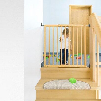 reer treppengitter basic zum schrauben online kaufen babywalz. Black Bedroom Furniture Sets. Home Design Ideas