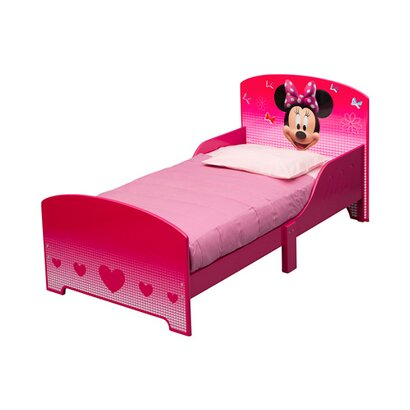 minnie mouse kinderbett 70x140 cm online kaufen babywalz. Black Bedroom Furniture Sets. Home Design Ideas