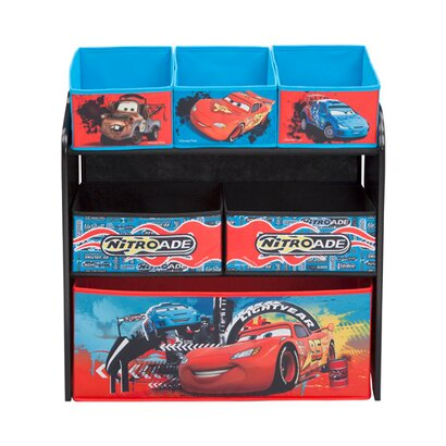 disney cars aufbewahrungsregal mit 6 boxen online kaufen. Black Bedroom Furniture Sets. Home Design Ideas