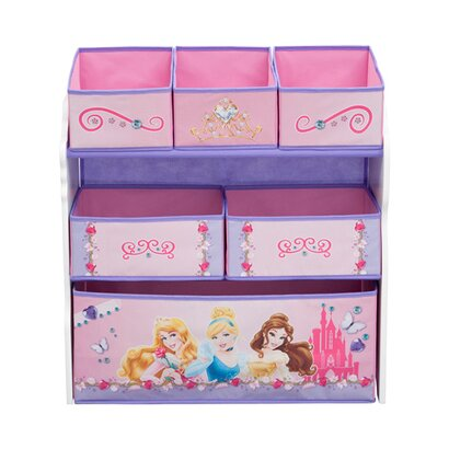 disney princess aufbewahrungsregal mit 6 boxen online. Black Bedroom Furniture Sets. Home Design Ideas