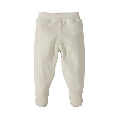Le pantalon en velours ras avec pieds de BORNINO BASICS