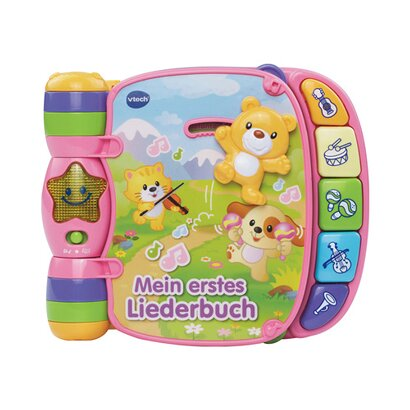 vtech baby mein erstes liederbuch pink online kaufen babywalz. Black Bedroom Furniture Sets. Home Design Ideas