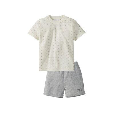 Pyjama 2-delig, korte broek + T-shirt van BORNINO BASICS