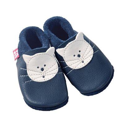 Les chaussures/chaussons premiers pas «Kitty gentiane» de POLOLO